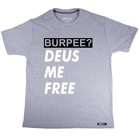 camiseta nordico Burpee Deus me free