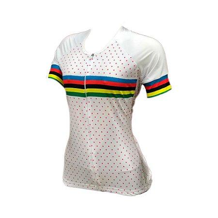 camisa feminina nordico ciclismo global pro elite 1104