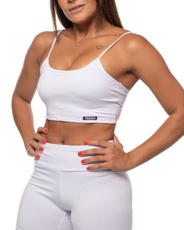 top nordico feminino white