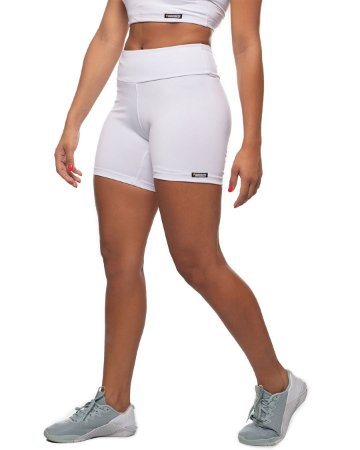 shorts nordico feminino white