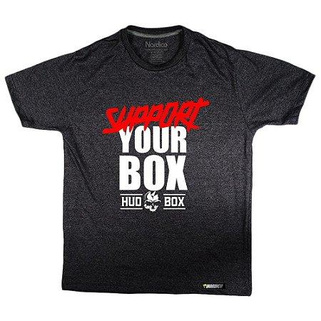 Camiseta support HudBox