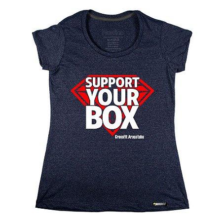 Camiseta support crossfit araçatuba