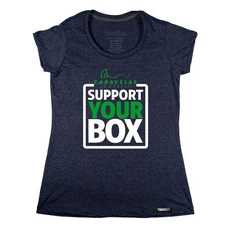 Camiseta support Caravelas Crossfit