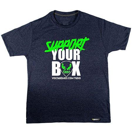 Camiseta support ET CROSS