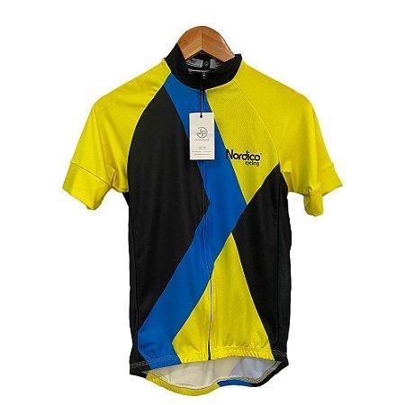 camisa ciclismo nordico yellow signal ref 1121