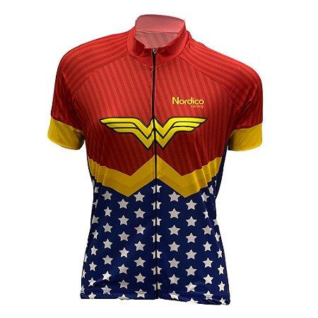camisa feminina ciclismo nordico maravilha ref 1006