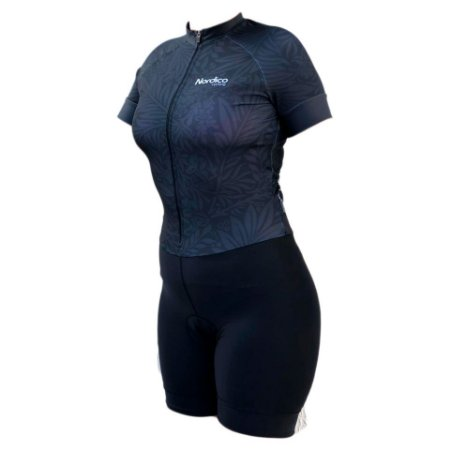 macaquinho ciclismo feminino nordico backrose 1160