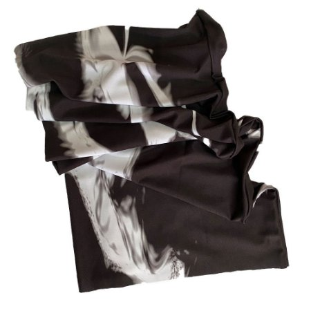 bandana tubular tie dye gray ref 1215