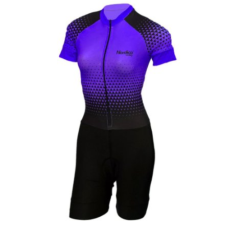 macaquinho ciclismo feminino nordico setaroxo ref 1022