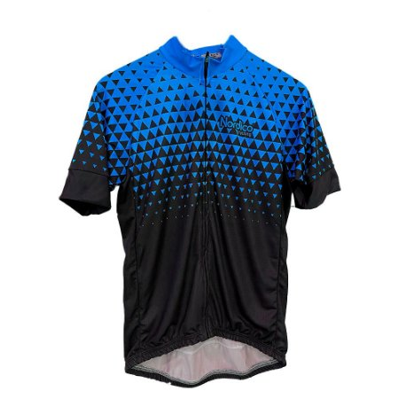 camisa ciclismo nordico seta turquesa ref 1102