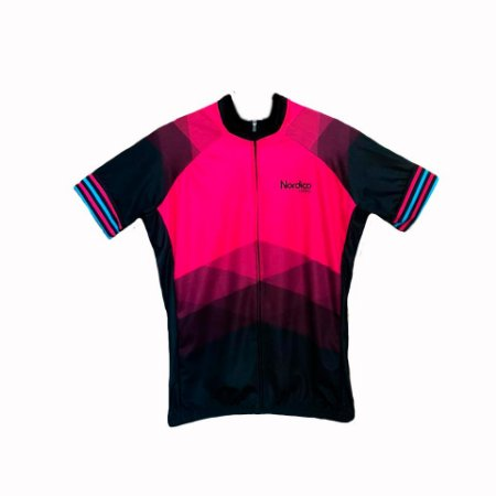 camisa ciclismo FEMININO nordico ROSADO MARINE plus size ref 1234 c6