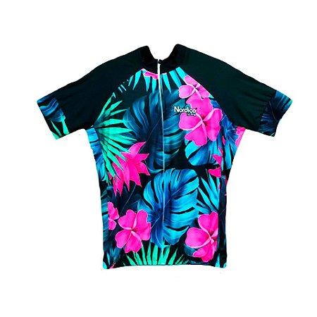 camisa ciclismo FEMININO nordico plus size leef ref 1235