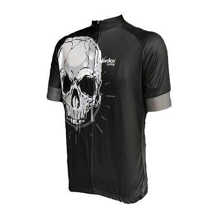camisa ciclismo nordico caveira ref 1194