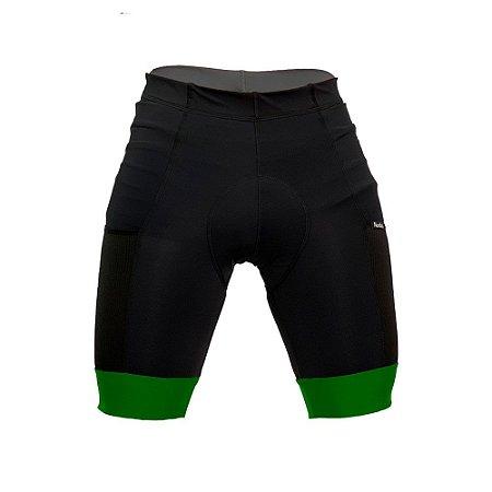 bermuda ciclismo nordico barra verde bandeira com bolso ref 1237