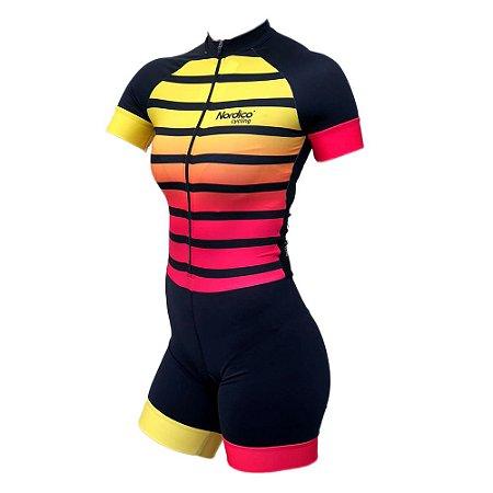 macaquinho ciclismo feminino nordico ketlin ref 222