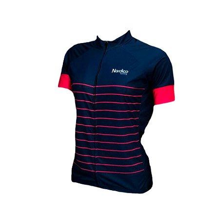 camisa ciclismo feminino nordico mermaid ref 1180