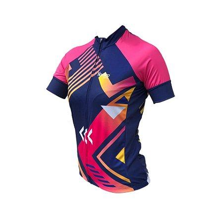 camisa ciclismo feminino nordico JESSICA REF 1009