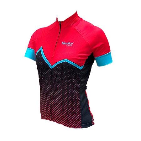 Camisa ciclismo feminino nordico Janaina REF 1061