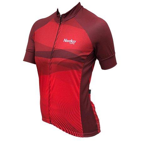Camisa ciclismo feminino nordico Lu REF 1090