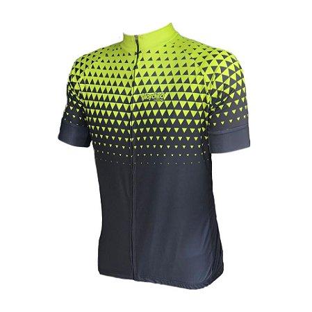 camisa ciclismo setaverde ref 1004