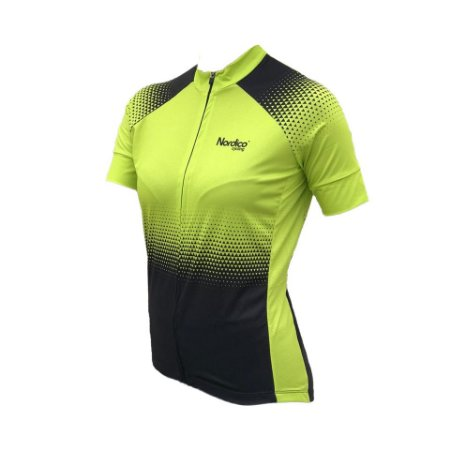camisa ciclismo feminino setaverde ref 1015