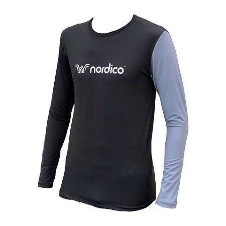 Camisa manga longa segunda pele proteção uv nordico bragi 1192 c45