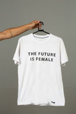 camiseta nordico the future is female ref 1252