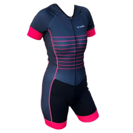 macaquinho ciclismo feminino mermaid recorte lateral ref 1273