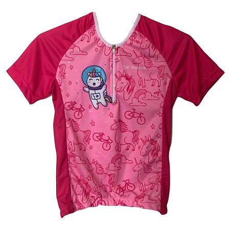 camisa ciclismo infantil uni-astro ref 1283