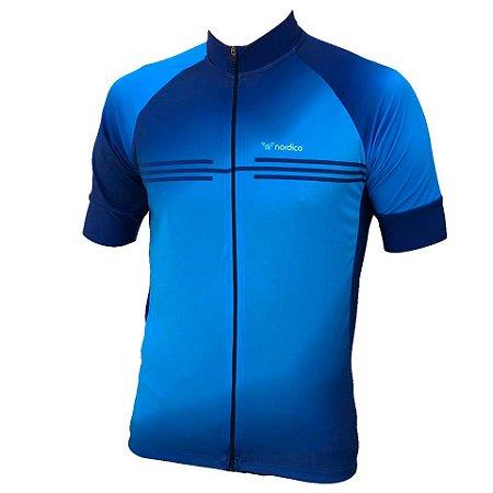 Camisa ciclismo nordico água ref 1298