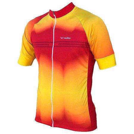 Camisa ciclismo nordico Fogo ref 1299