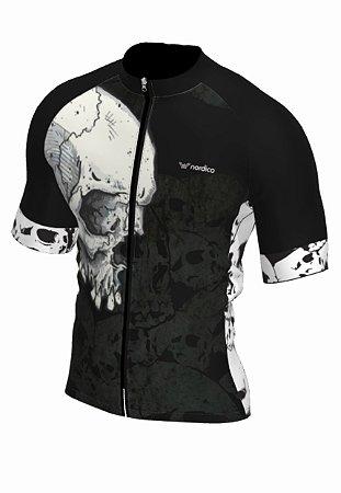 Camisa ciclismo nordico skull ref 1329e