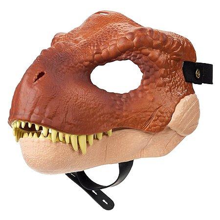 Máscara com Movimento - Tyrannosaurus Rex - Jurassic World - Mattel