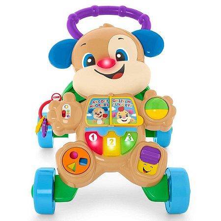 Andador com Atividades do Cachorrinho Mattel Fisher-Price