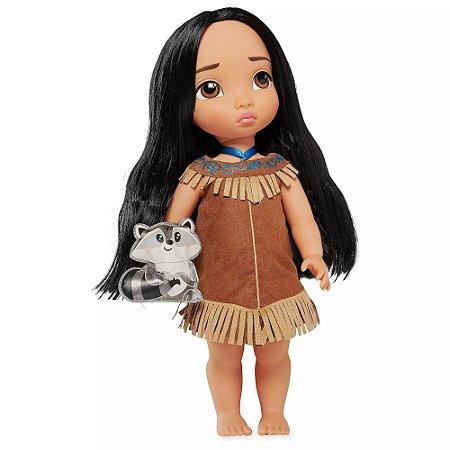 Boneca Princesa Pocahontas Disney Animators