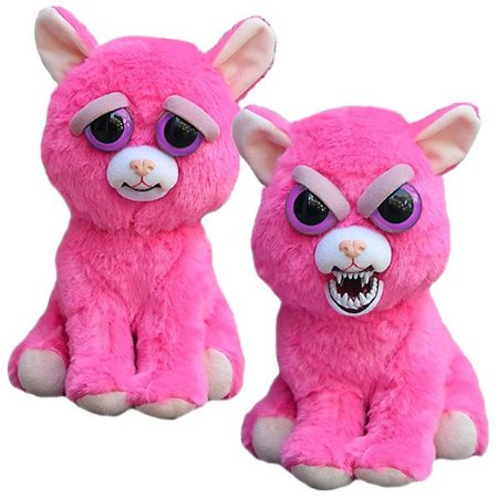 Pelúcia Feisty Pets Gato Pink