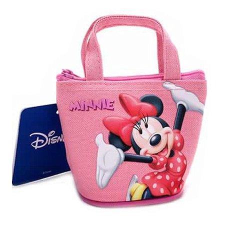 Mini Bolsa Porta Moedas Minnie Disney
