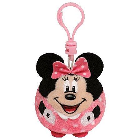 Chaveiro De Pelúcia Disney Minnie Ballz Rosa