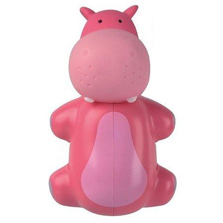 Dispenser Porta Escova De Dente Hipopótamo