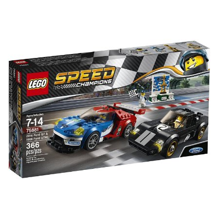 Lego Speed Champions Ford GT & Ford GT40 75881