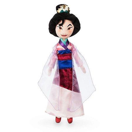 Pelúcia Princesa Mulan Disney