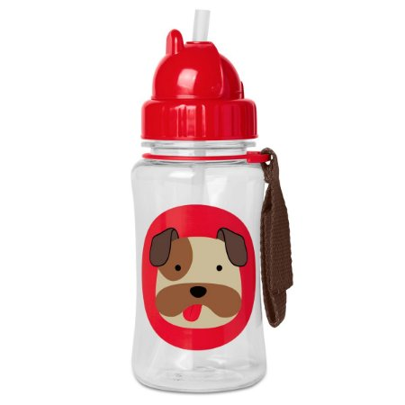 Garrafinha Skip Hop Zoo Bulldog