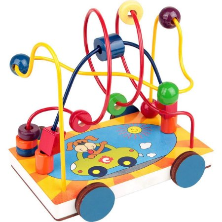 Aramado Carrinho Brinquedo Educativo Pedagógico Carlu