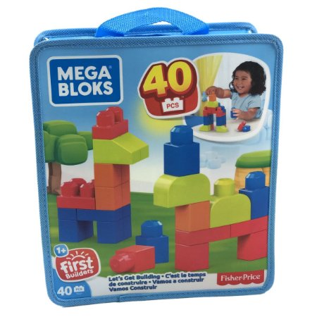 Mega Bloks Sacola 40 Peças - First Builders - Fisher-Price