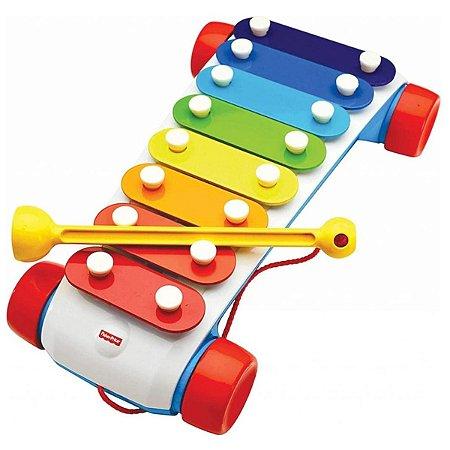Brinquedo Musical Xilofone Clássico Mattel Fisher-Price