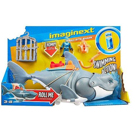Imaginext Tubarão Mega Mordida - Fisher-Price