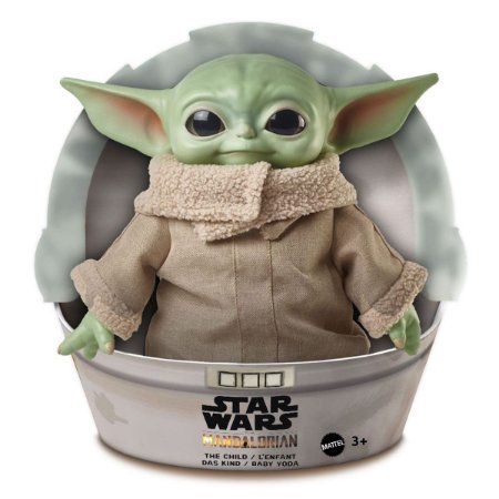 Boneco Baby Yoda The Child - Star Wars Mandalorian - GWD85 - Mattel