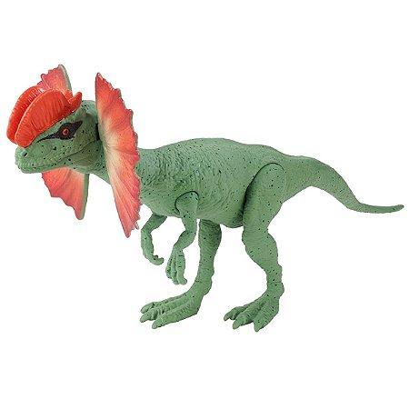 Dinossauro Dilophosaurus Jurassic World - Mattel