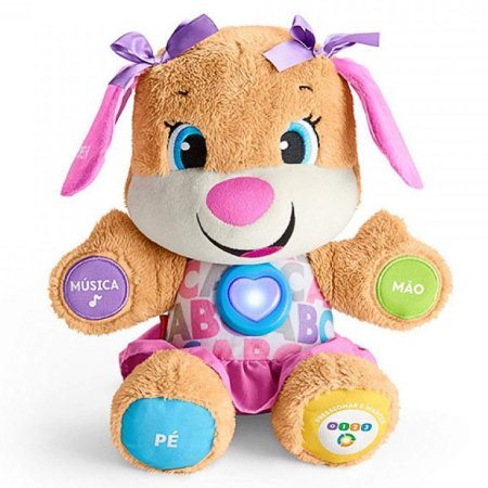 Aprender & Brincar Irmã do Cachorrinho Smart Stages Mattel Fisher-Price