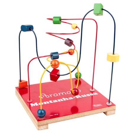 Aramado Montanha-Russa Brinquedo Educativo Pedagógico Carlu